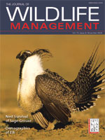 Journal Of Wildlife Management